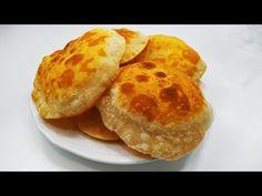Csak Liszt és Víz felhasználásával készítettem kenyereket, amelyek lufiként dagadtak! - YouTube Bread Recipes, Vegan Recipes, Cooking Recipes, Yeast Bread, Bread Baking, Quick Bread, How To Make Bread, Fried Biscuits, Baked Goods