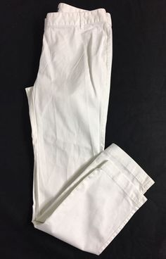 346 BROOKS BROTHERS Womens Milano Fit Chinos Size 4 / Cotton Pants  #BrooksBrothers #KhakisChinos