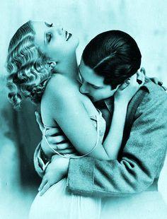 Французские открытки, в которых показано, как романтично целовались в 1920-е годы 3