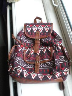 another tribal backpack