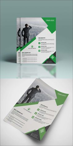 Free PSD Corporate Flyer Template