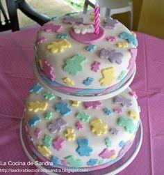 La Cocina de Sandra: Bizcocho de Cumpleaños mojadito \!!!!