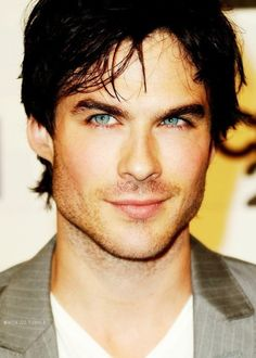 it's the eyes, and that he's from southern Louisiana, and that he's Boone and Damon, and I just swoon