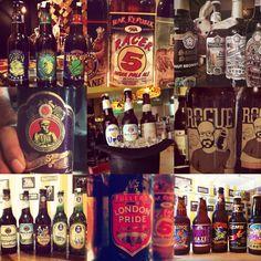 Más de 30 cervezas artesanales para escoger #abracadabra #craftbeers    #abracadabrabeers