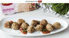 Albóndigas de quinoa y queso de cabra: un entrante crujiente que te sorprenderá. Noticias de Gastronomía