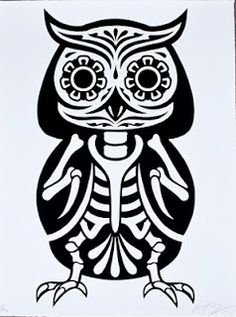 Dia De Los Muertos Coloring Pages | Plus just for fun, Ernesto Yerena made these animals of the dead ...