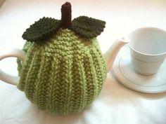 Crisp Green Apple- Pure Wool Tea Cosy