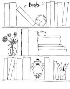 Bilderesultat for bullet journal books to read Books To Read Bullet Journal, Bullet Journal Notes, Book Journal, Journals, Reading Log Printable, Book Clip Art, Reading Tracker, To Do Planner, Bullet Journal For Beginners