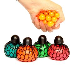 Dazzling Toys 12 pc Dozen ) Mesh Squishy Stress Relief Balls Tear-Resistant Non-Toxic, Birthday Party Favors , for Kids & Adults for Autism, ADHD, Bad Habits Birthday Party Favors, Birthday Parties, Calming Activities, Sensory Bags, Novelty Toys, Anti Stress, Classic Toys, Stress Relief, Kids Toys