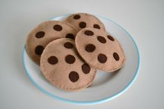 Schoko Cookies für den Kaufladen