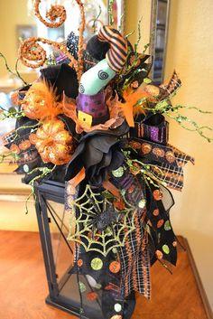 Halloween center pieces