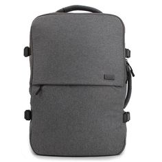 DICKFIST Mens Laptop Backpack - S. Korea Travel Rucksack College Bag, 17 Laptop Compartment, Front zip pockets