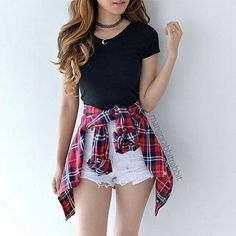 Spring And Summer Outfits 😍 , For More Fashion Visit Our Website cute summer outfits, cute summer outfits outfit ideas,casual outfits Spring . Cute Teen Outfits, Teenage Girl Outfits, Teen Fashion Outfits, Fashion Clothes, Shorts Outfits For Teens, Womens Fashion, Casual Teen Fashion, Fashion Teens, Summer Outfit For Teen Girls