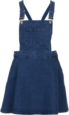 Blue Denim Pini Dress - Lyst