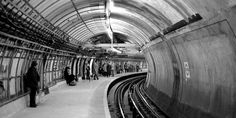 Embankment Tube Station, 1985