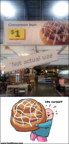 "★★★★★ Memes graciosos para descargar: ""No es el tamaño real"" I➨ http://www.diverint.com/memes-graciosos-descargar-tamano-real/ →  #imágenesdelosmemesenespañol #memeschistososfacebook #memesdivertidos #memesgraciososdepersonas"