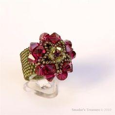 Beading Tutorial, Beaded Bead Cabochon Pendant Ring, Personal Use Only Diy Jewelry, Handmade Jewelry, Jewelry Making, Handmade Wire, Jewelry Trends, Jewelry Findings, Gold Jewellery, Earrings Handmade, Jewelry Bracelets