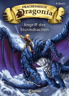 Tinas kleine Bücherwelt: Rezension Drachenreich Dragonia, Band 1: Angriff d...