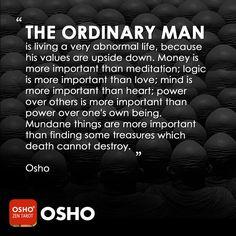 Osho Quotes On Life, Faith Quotes, Wisdom Quotes, Quotes To Live By, Me Quotes, Qoutes, Change Quotes, Spiritual Wisdom, Spiritual Awakening