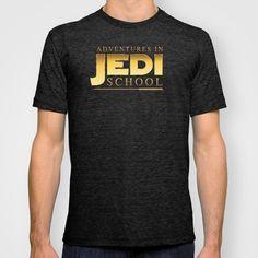 Adventures in Jedi School T-shirt