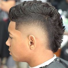 Good Mohawk Fade Haircut 2018