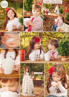 Hot Cocoa Mini Sessions {Knoxville Children Photography}