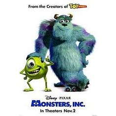 Movie – Monsters, Inc. Plano, TX #Kids #Events