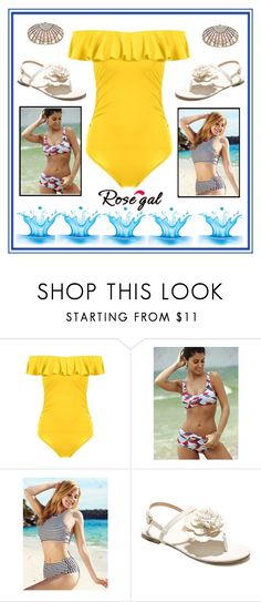 """""""rosegal 57"""" by merisa-imsirovic ❤ liked on Polyvore featuring Judith Leiber"""