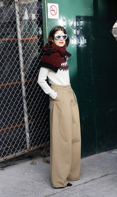 Not only will you look like a street style star, but you'll be warmer in a pinch.