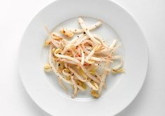Sesame-Pepper Bean Sprouts