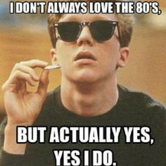 I may have not lived in the 80's but I kind of wish #thebreakfastclub