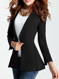 Buy Elegant Collarless Blazers online with cheap prices and discover fashion Blazers at Fashionmia.com.