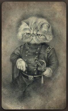 Colonel Puss by Sash-kash (artist?)