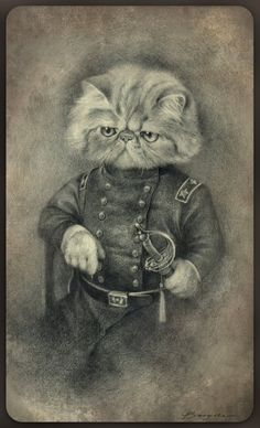Colonel Puss by Sash-kash (artist?)