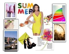 """""""summer fun"""" by smajicelma ❤ liked on Polyvore featuring Rebecca Minkoff and Boohoo"""