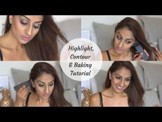 Updated Contour, Highlight and Baking Tutorial ♥ - YouTube