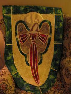 Quilted wall hanging/Angel