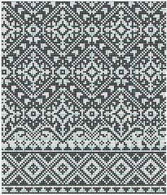 Nice Stitch design for my electronic knitting machine Fair Isle Knitting Patterns, Knitting Charts, Knitting Stitches, Knitting Designs, Knit Patterns, Stitch Patterns, Floral Patterns, Motif Fair Isle, Fair Isle Chart