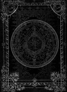 Pentagram. CoS. Baphomet. A black Charka is what I that see it is hidden like a black star in the universe