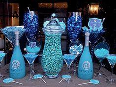 Bravo's Million Dollar Decorator Event  {Dessert table signs designed by Posh Pixels Design Studio LLC}