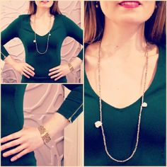 Check out LindseyMarie jewelry and find your color for Virtue necklace-bracelets. Arrow Necklace, Pendant Necklace, Green And Gold, Dark, Bracelets, Check, Accessories, Color, Jewelry