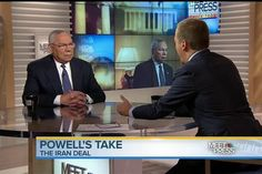 Former Secretary of State Colin Powell expressed support for the nuclear agreement with Iran on Sunday.