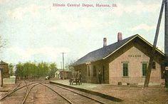 Railroad depot - Havana, Illinois