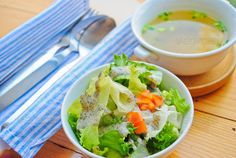 soup and salad ...  appetizer, backgrounds, black, boiled, bowl, broth, cabbage, clear, close, closeup, course, cream, cuisine, delicious, diet, dinner, food, foodstuff, fresh, green, health, healthy, herb, hot, interior, lunch, meal, menu, nutrition, nutritional, nutritious, one, organic, restaurant, salad, sesame, snack, soup, starter, stock, table, tasty, tomato, vegetable, vegetarian, warming, white