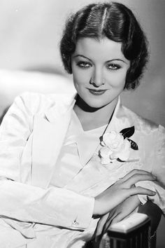 Myrna Loy photographed by George Hurrell, ca. 1932