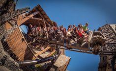 So many amazing vantage points on #Taron at #Phantasialand!  by @multimueller #rollercoaster #germany