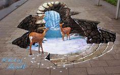 Lukisan 3 Dimensi ( 3D )