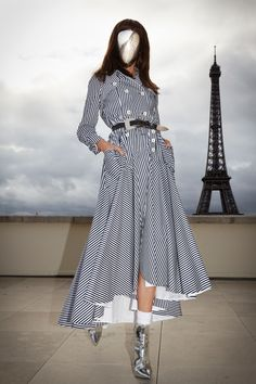 Alexis Mabille Spring 2019 Ready-to-Wear Fashion Show Collection: See the complete Alexis Mabille Spring 2019 Ready-to-Wear collection. Look 7 Alexis Mabille, Love Fashion, Runway Fashion, Spring Fashion, Fashion 2018, Unique Fashion, High Fashion, Fashion Ideas, French Fashion Designers