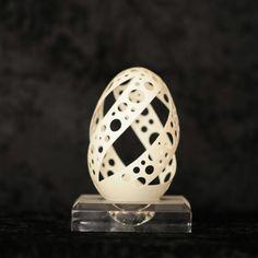 Ostrich Egg Shell Art