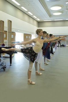 Gina Storm-Jensen and dancers of The Royal Ballet and The Royal Ballet School in rehearsal for Giselle, The Royal Ballet © 2016 ROH. Photo by Andrej Uspenski Dance It Out, Just Dance, Contemporary Dance, Modern Dance, Dance Outfits, Dance Dresses, Prom Dresses, Alonzo King, Ballet Inspired Fashion
